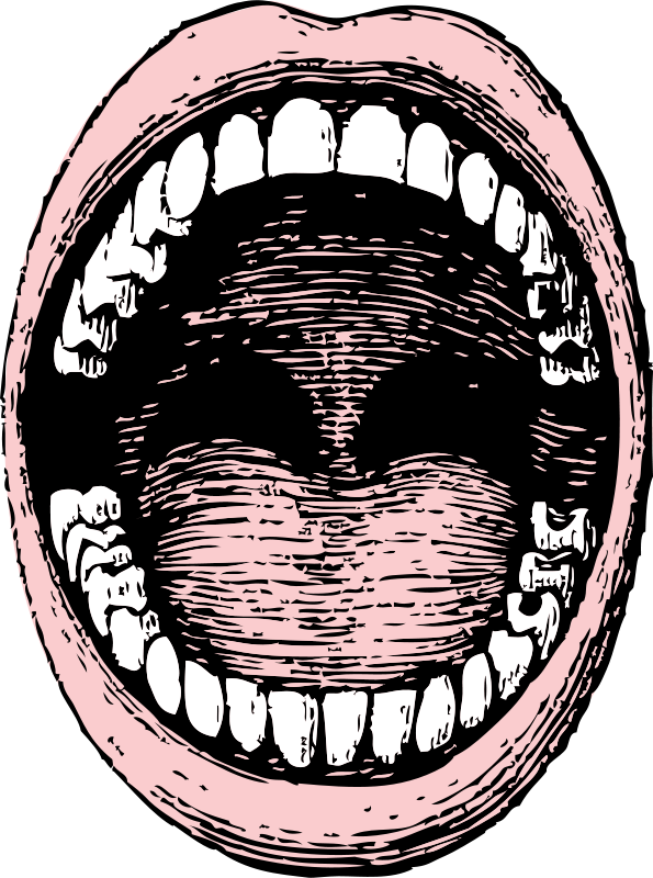 Photo open mouth cliparts picture freeuse Free clip art \