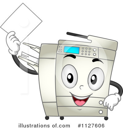 Photocopying clipart clip royalty free download Copier Clipart #1294035 - Illustration by djart clip royalty free download