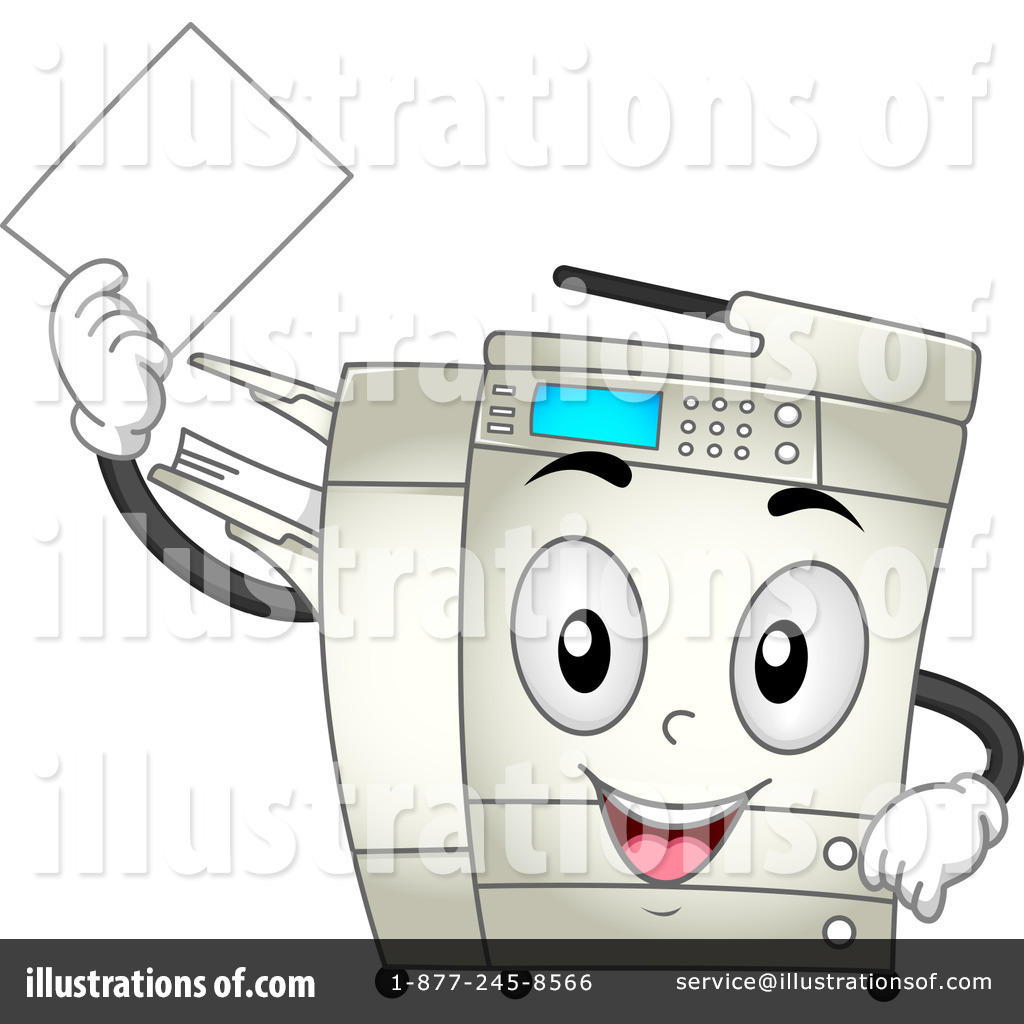 Photocopying clipart picture Copier Clipart #1127606 - Illustration by BNP Design Studio picture