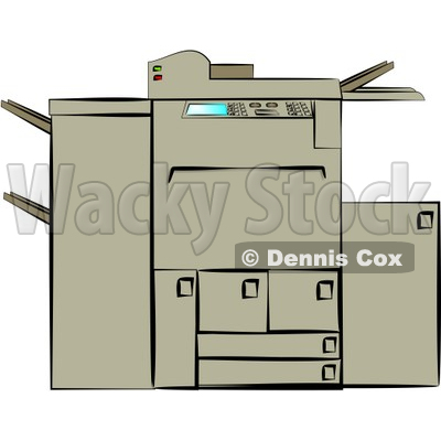 Photocopying clipart image freeuse stock Photocopying Machine Clipart | Clipart Panda - Free Clipart ... image freeuse stock
