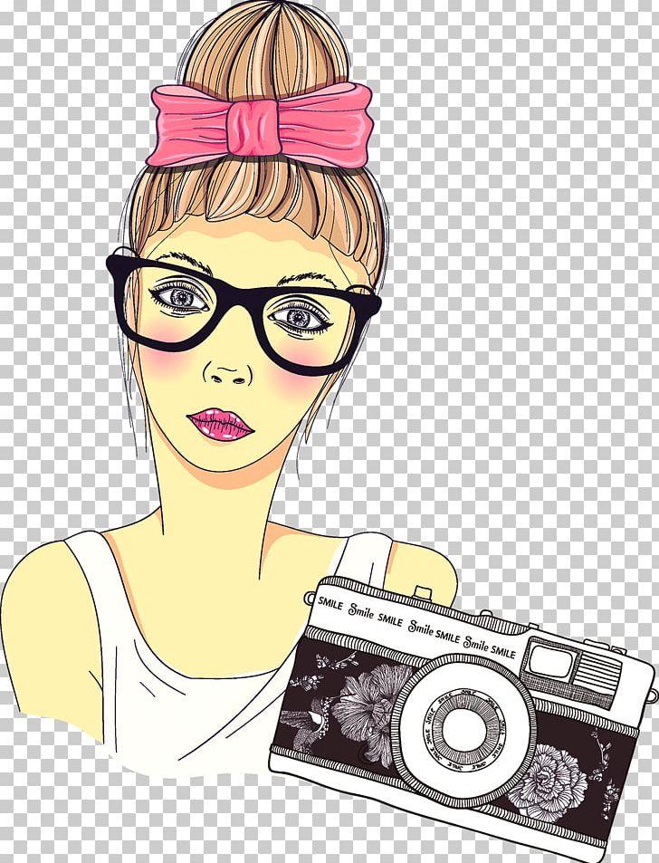 Photography girl clipart image freeuse Cartoon Photographer Photography Girl PNG, Clipart, Art ... image freeuse