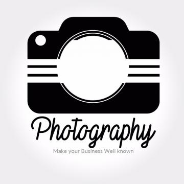 Photography Logo Png, Vector, PSD, and Clipart With ... vector black and white library