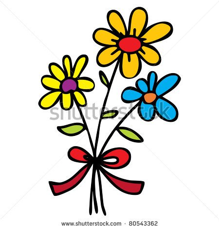 Photos of cartoon flowers graphic black and white library Photos of cartoon flowers - ClipartFest graphic black and white library