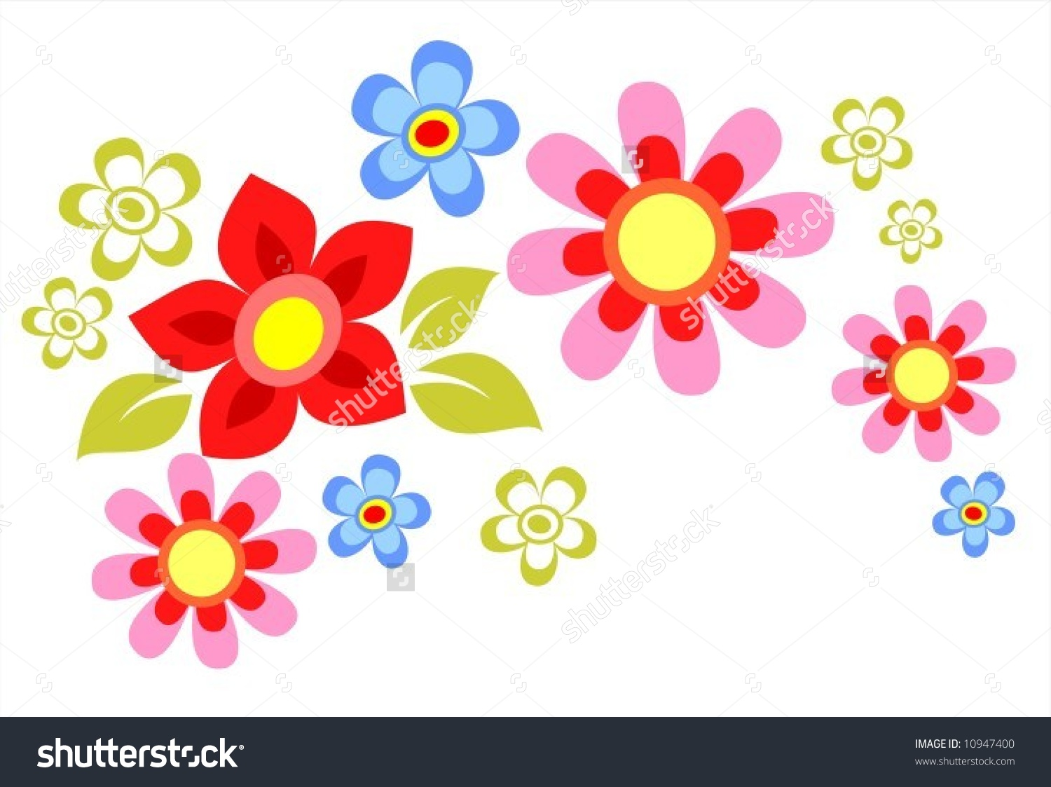 Photos of cartoon flowers clipart freeuse download Cartoon flower image - ClipartFest clipart freeuse download