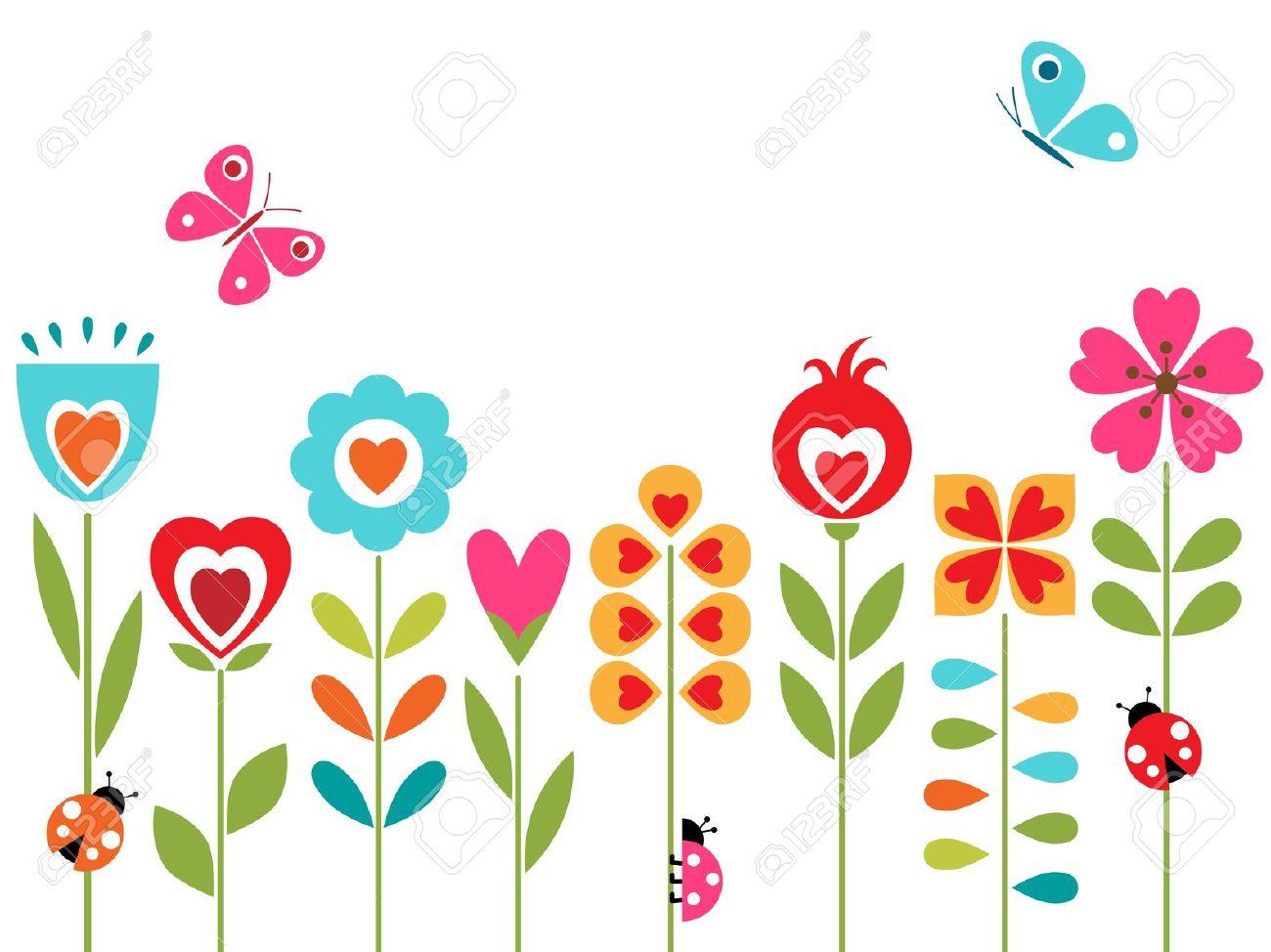 Photos of cartoon flowers svg freeuse stock Flowers cartoon images - ClipartFest svg freeuse stock