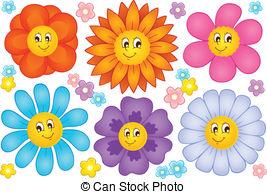 Photos of cartoon flowers jpg freeuse stock Cartoon flower clipart - ClipartFest jpg freeuse stock