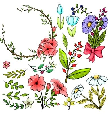 Photos of cartoon flowers image library 17 best ideas about Cartoon Flowers on Pinterest | Doodle drawings ... image library