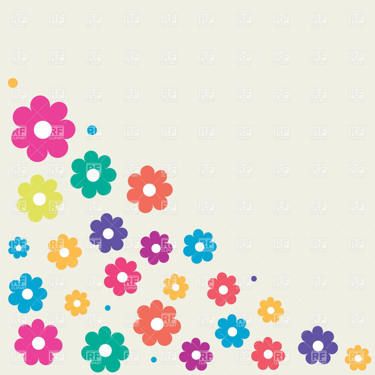 Photos of cartoon flowers vector free stock Cartoon flower clipart - ClipartFest vector free stock