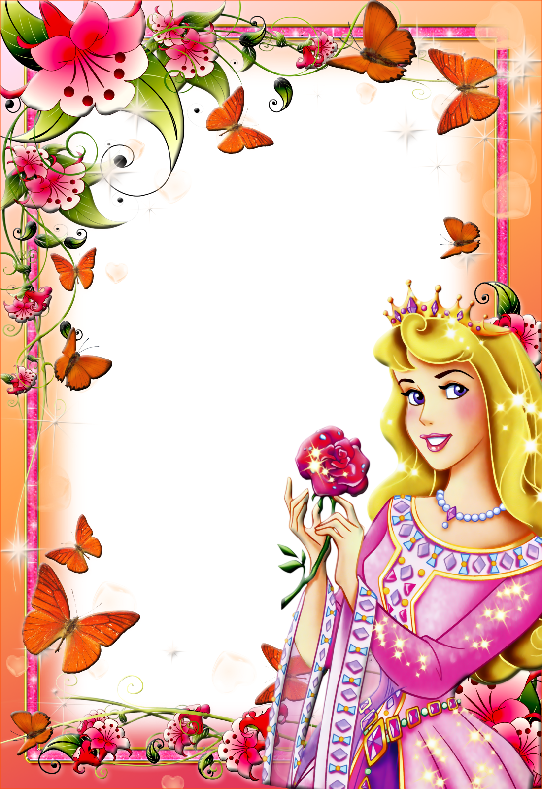 Photoshop clipart book picture free Imagens para photoshop: frames PNG fotos princesas disney #2   Paper ... picture free