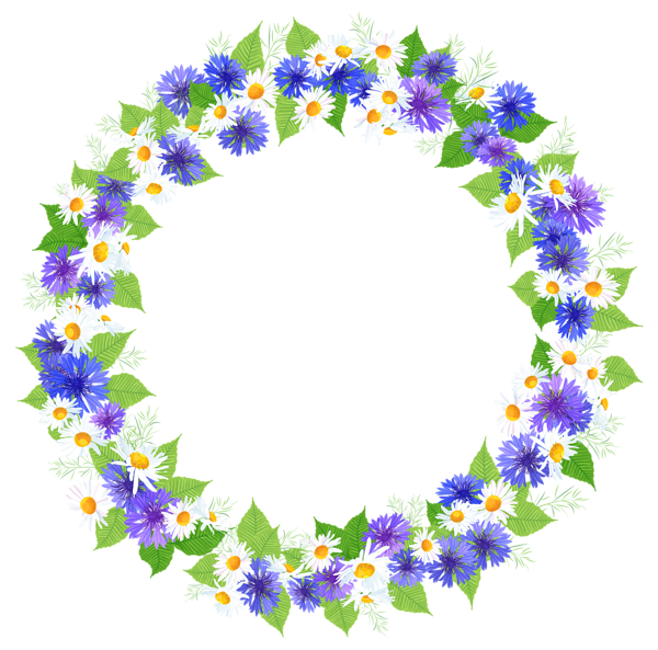 Photoshop clipart flower crown vector royalty free download Floral Round Decoration PNG Clipart Image | Fondos | Pinterest ... vector royalty free download