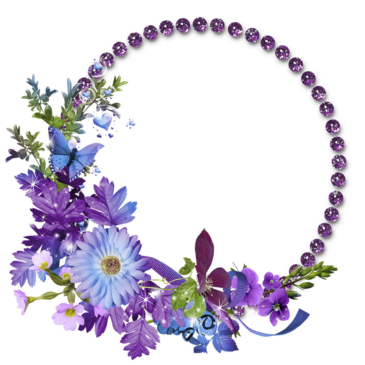Photoshop clipart flower crown jpg transparent stock Free Flowers Graphic Frames | MARCOS GRATIS PARA FOTOS: MARCOS PARA ... jpg transparent stock