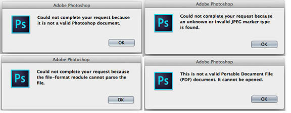 Photoshop could not parse the file clipart vector library 확장자 psd 파일이 포토샵에서 안 열릴 때 vector library