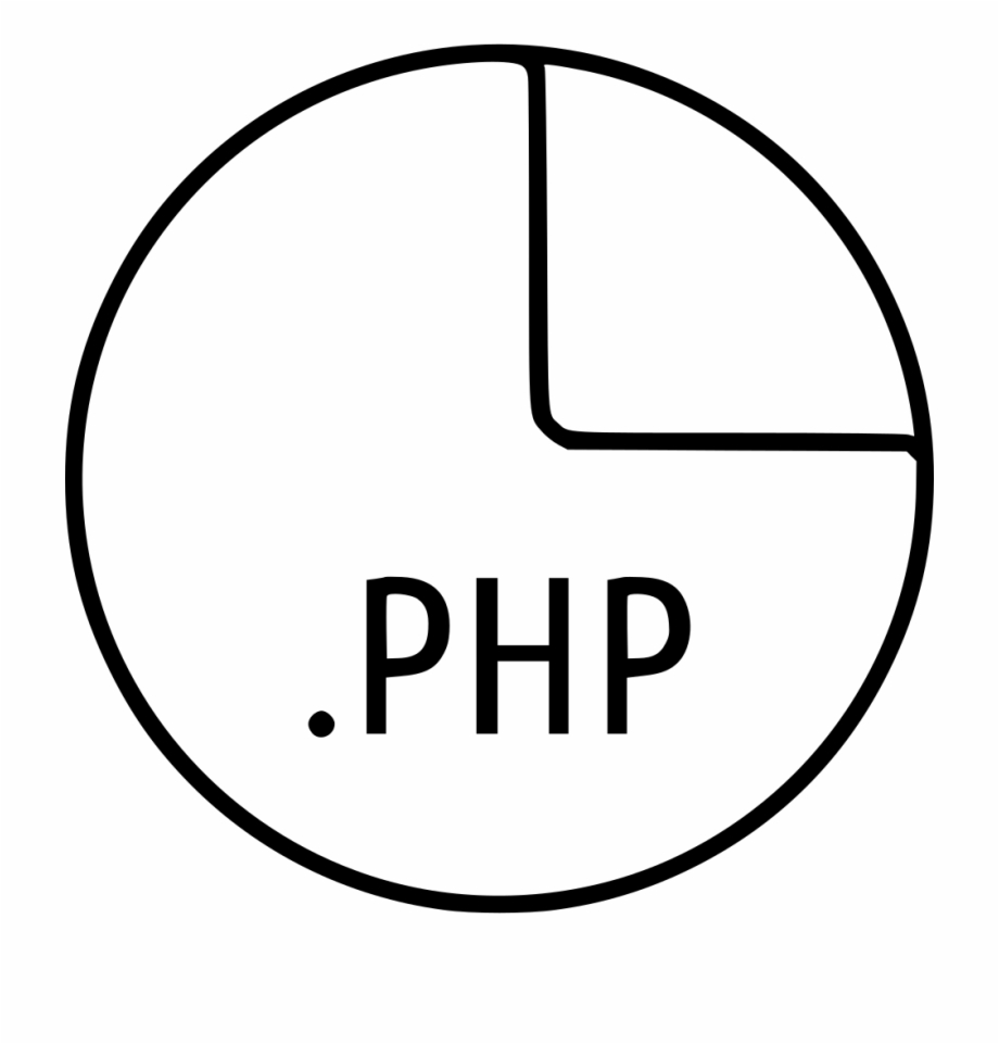 PHP Icon Outline - Icon Shop - Download free icons for commercial use | 961x920