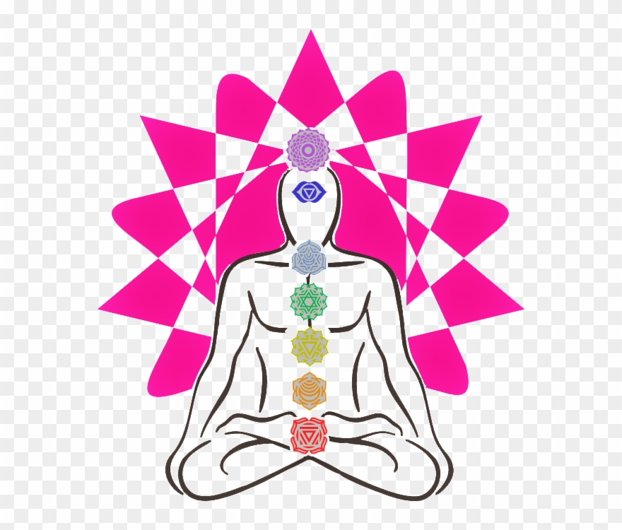 Phsychic clipart clipart black and white Psychic Chakra Spa - Yoga Clipart (#1573602) - PinClipart clipart black and white