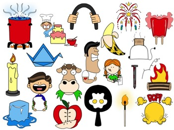Physical change clipart png transparent download Chemical and Physical Change Clip Art Collection png transparent download