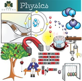 Physical science clipart images free Physics Class Clip Art | Primary Science Clip Art | Physics ... free