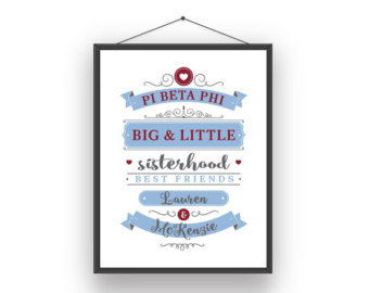 Pi beta phi clip art free stock Pi beta phi big little – Etsy free stock