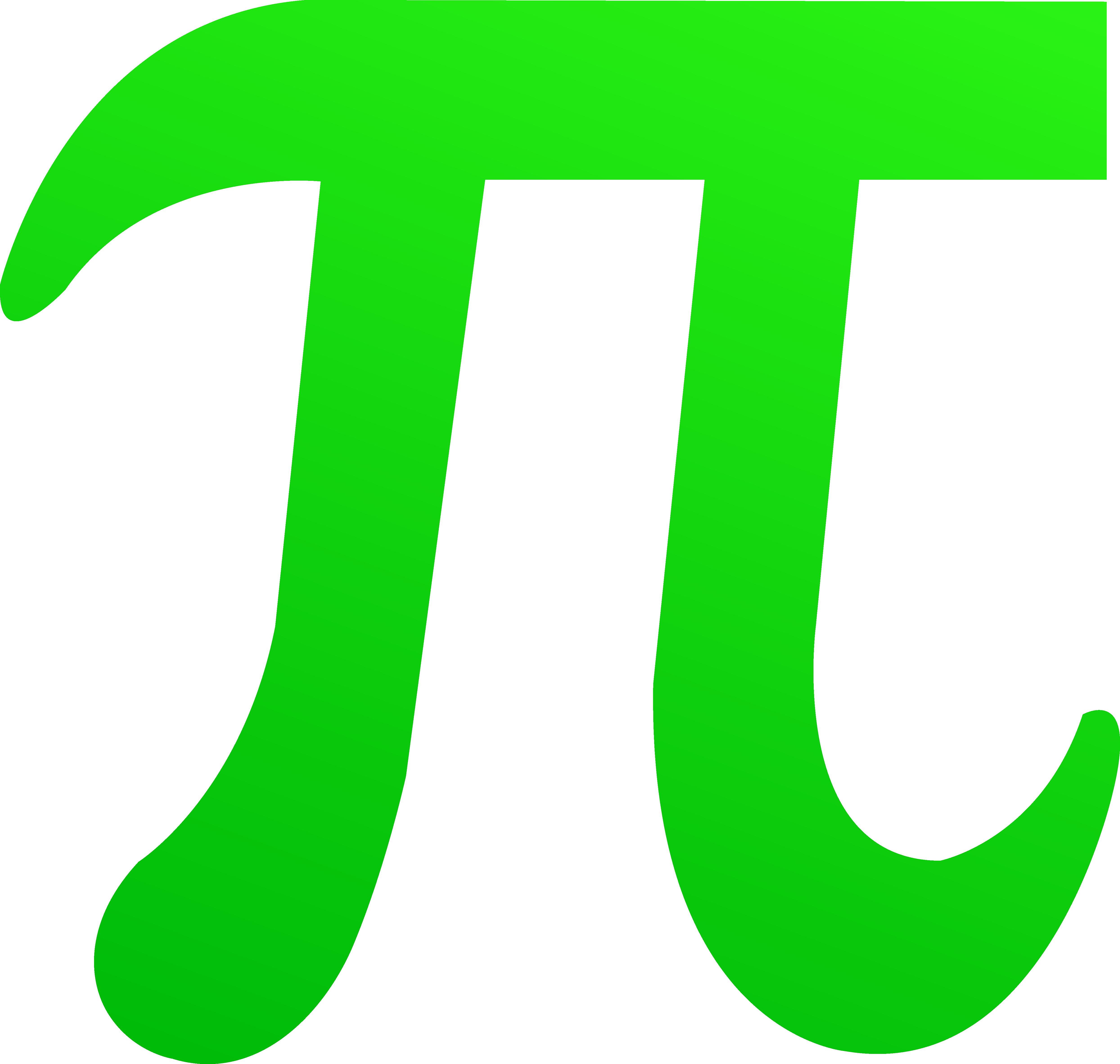 Number clipart 1 jpg transparent Green Pi Symbol - Free Clip Art jpg transparent