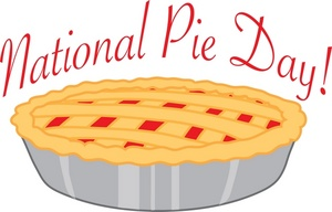 Pi day 2016 clipart svg transparent library National pie day clipart - ClipartFest svg transparent library