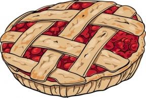 Pi pie clipart vector transparent library Pi Pie Clip Art - Cliparts Zone vector transparent library
