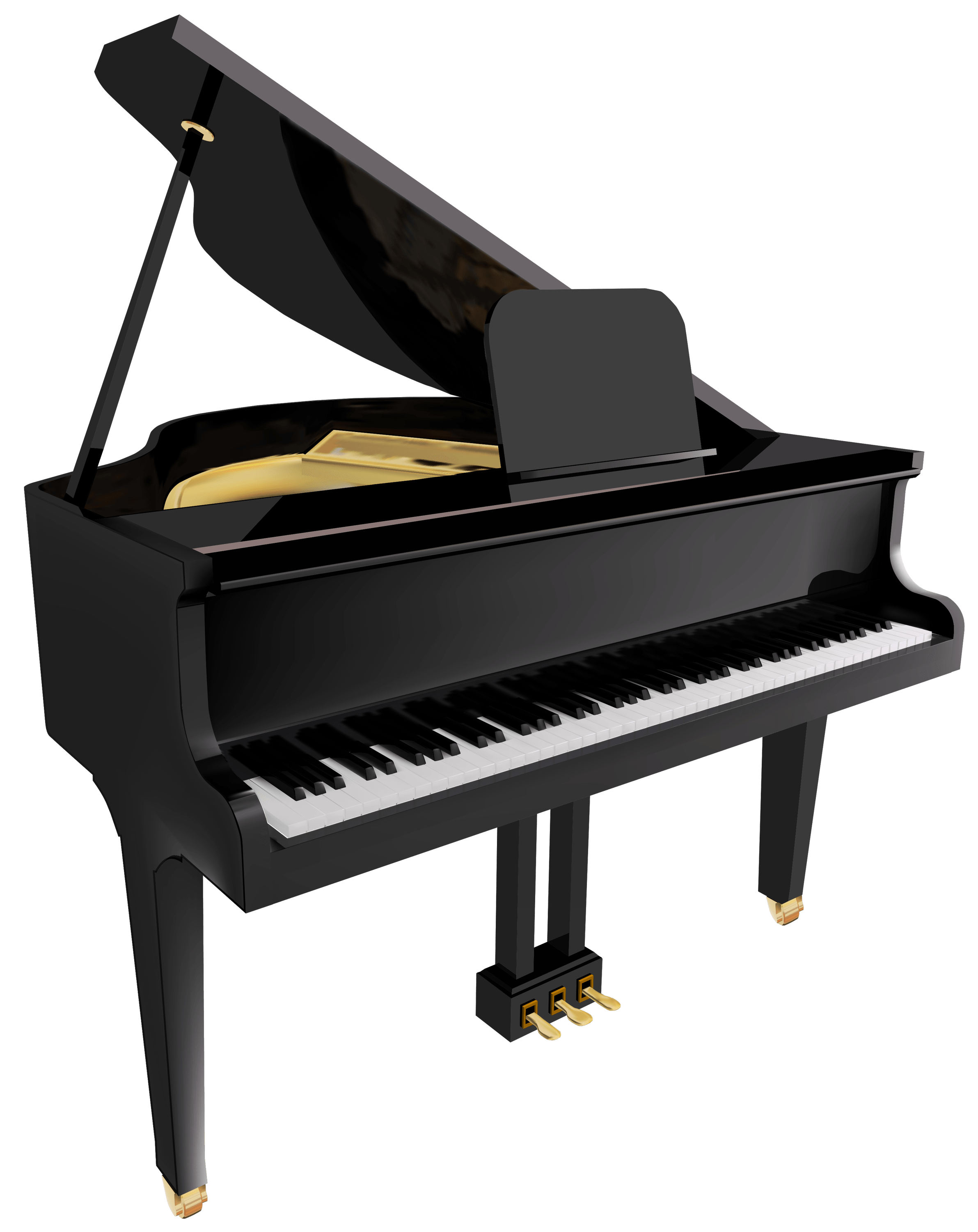 Piano clipart images image library stock Piano Clipart transparent PNG - StickPNG image library stock