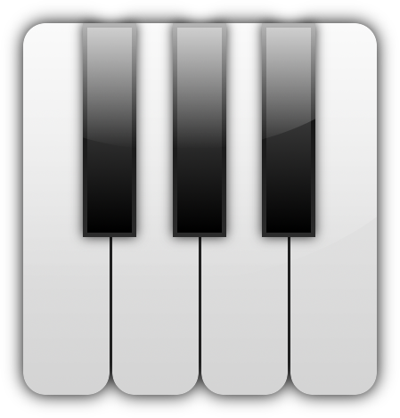 Piano icon clipart graphic royalty free download Free Piano Keys Png, Download Free Clip Art, Free Clip Art ... graphic royalty free download