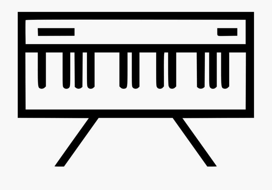 Piano icon clipart graphic library Keyboard Clipart Organ - Keyboard Piano Icon Png #900700 ... graphic library