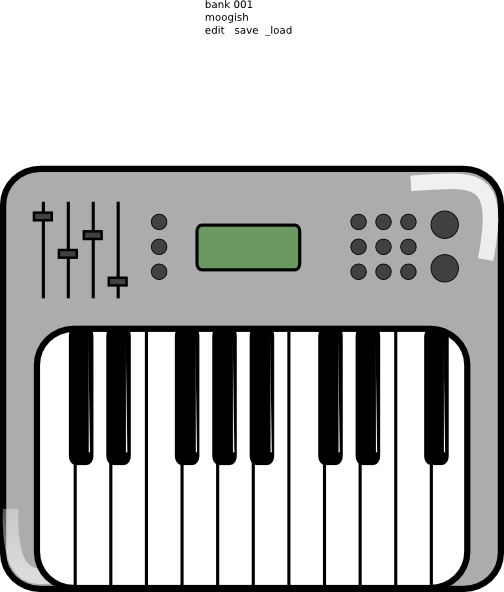 Piano keyboard clipart color picture free library Piano Keyboard Clipart | Free download best Piano Keyboard ... picture free library