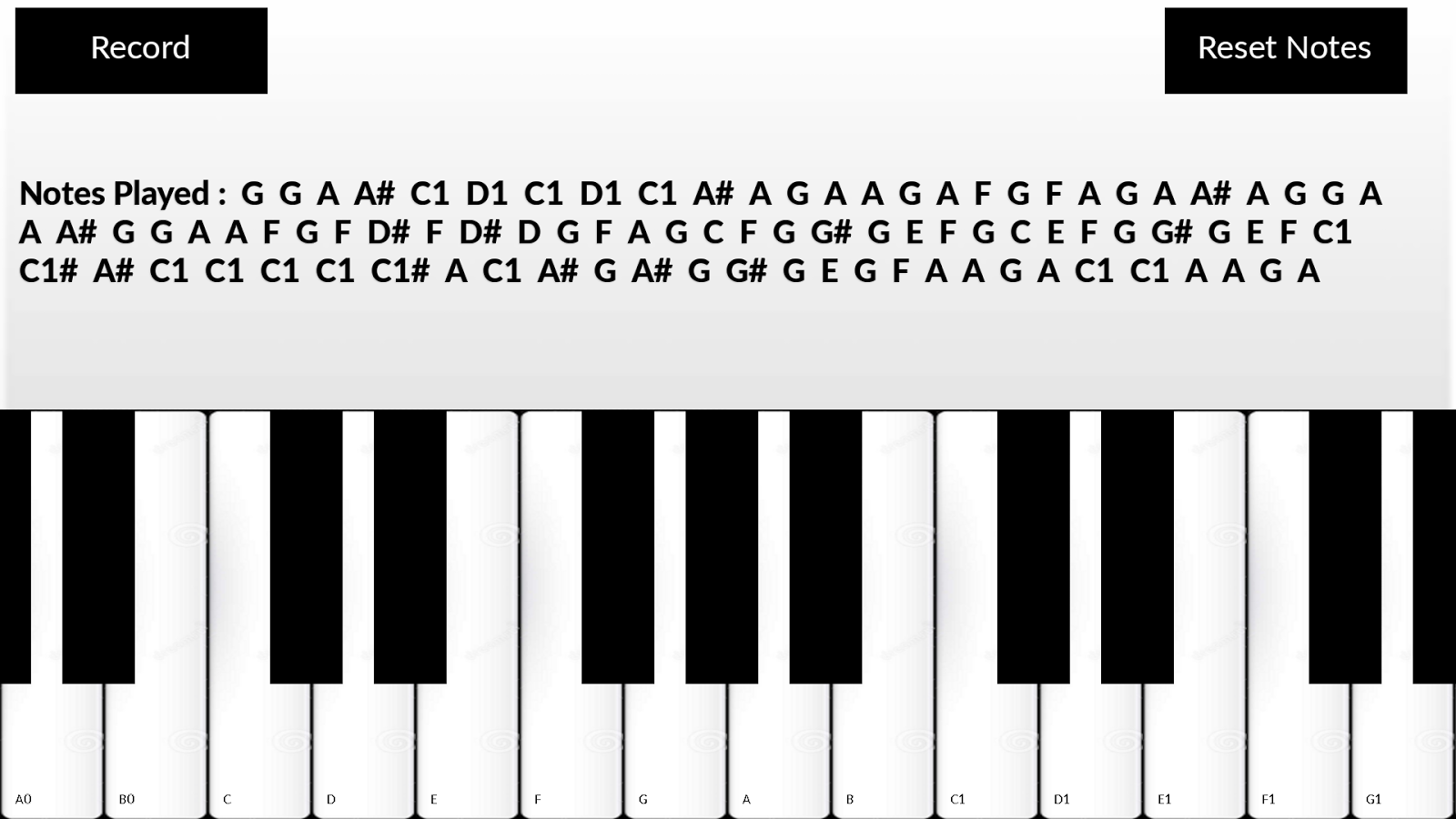 Piano notes transparent library Piano Notes - Android Apps on Google Play transparent library