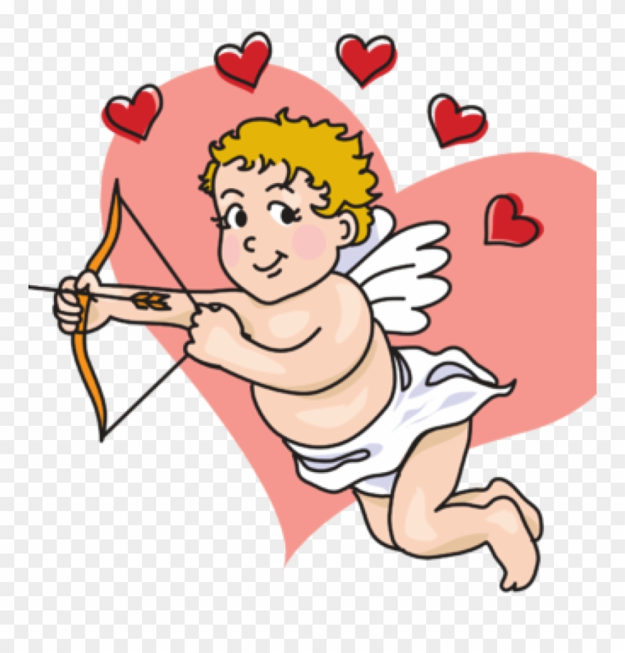 Pic of cupid clipart svg freeuse Cupid Clipart February - Cute Cupid Clip Art - Png Download ... svg freeuse
