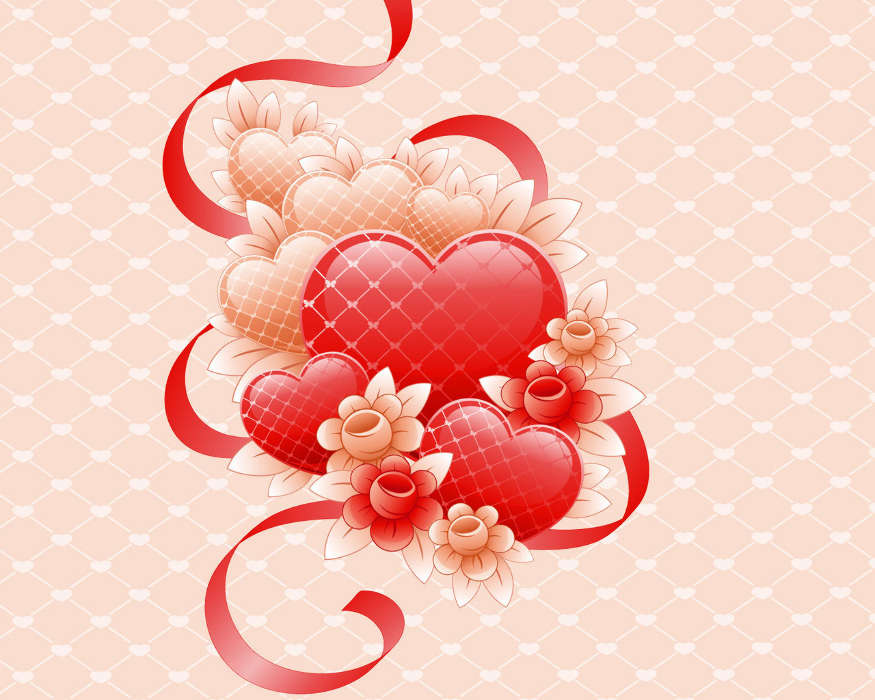Pic of flowers download clip download Download mobile wallpaper: Flowers, Background, Hearts, Love, free ... clip download