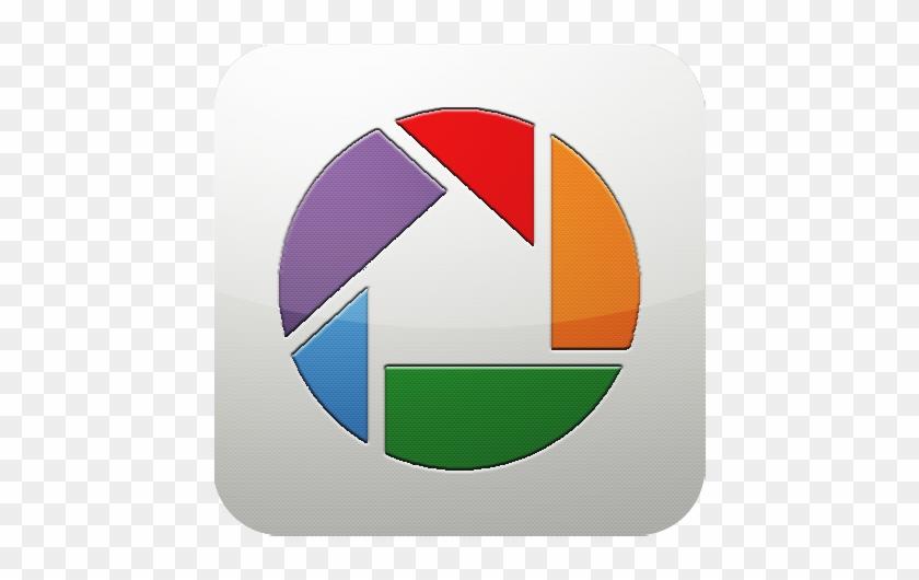 Picasa logo clipart banner black and white Google Photos Icon Logo - Picasa Logo - Free Transparent PNG ... banner black and white