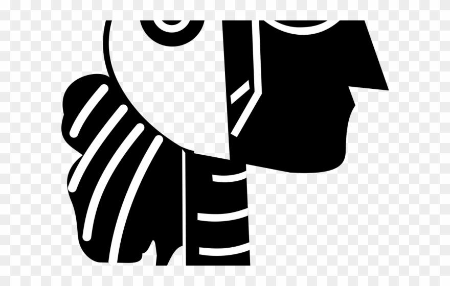 Picasso clipart clip black and white library Sculpture Clipart Picasso - Stencil De Pablo Picasso - Png ... clip black and white library