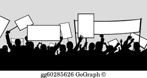 Picket sign clipart vector free Picket Sign Clip Art - Royalty Free - GoGraph vector free