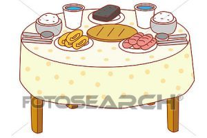 Picking up food from a table clipart picture free library Dining table with food clipart 4 » Clipart Portal picture free library