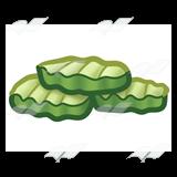 Pickle slice clipart stock Sliced Pickles stock