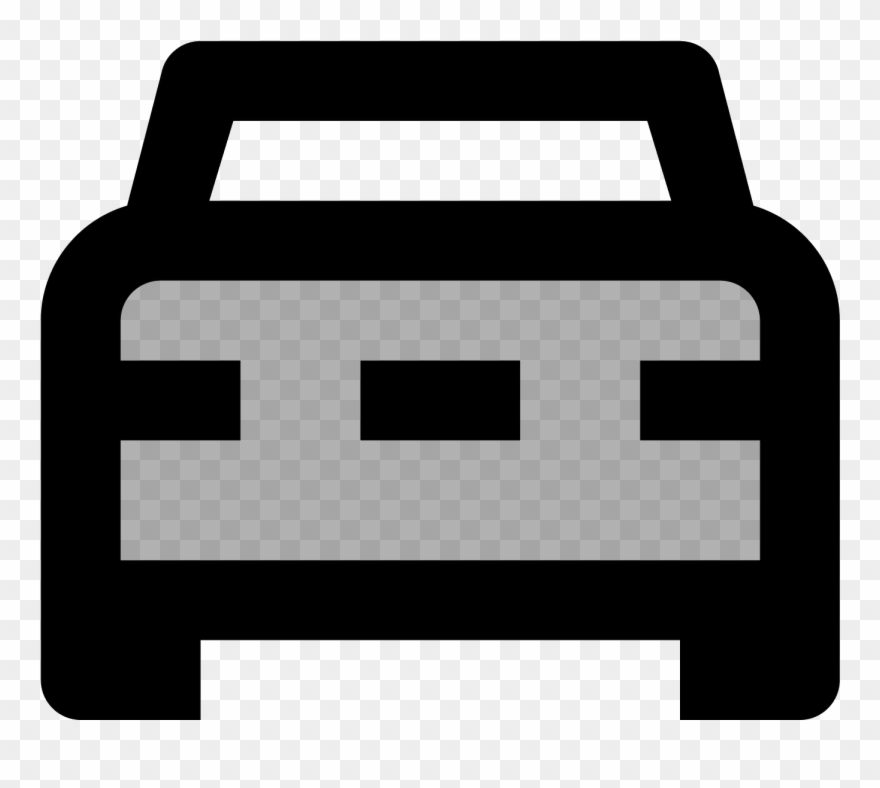 Pickup icon clipart clipart library library Pickup Front View Icon Clipart (#2471670) - PinClipart clipart library library