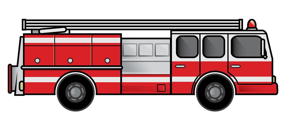 Thanksgiving clipart fire truck black and white Fire truck clipart images 2 image #15127 | Airplanes & other ... black and white