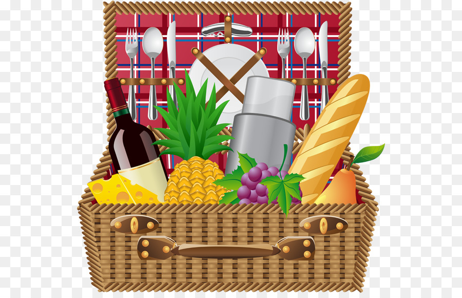Picnic basket clipart free clipart freeuse stock Home Cartoon png download - 600*572 - Free Transparent ... clipart freeuse stock