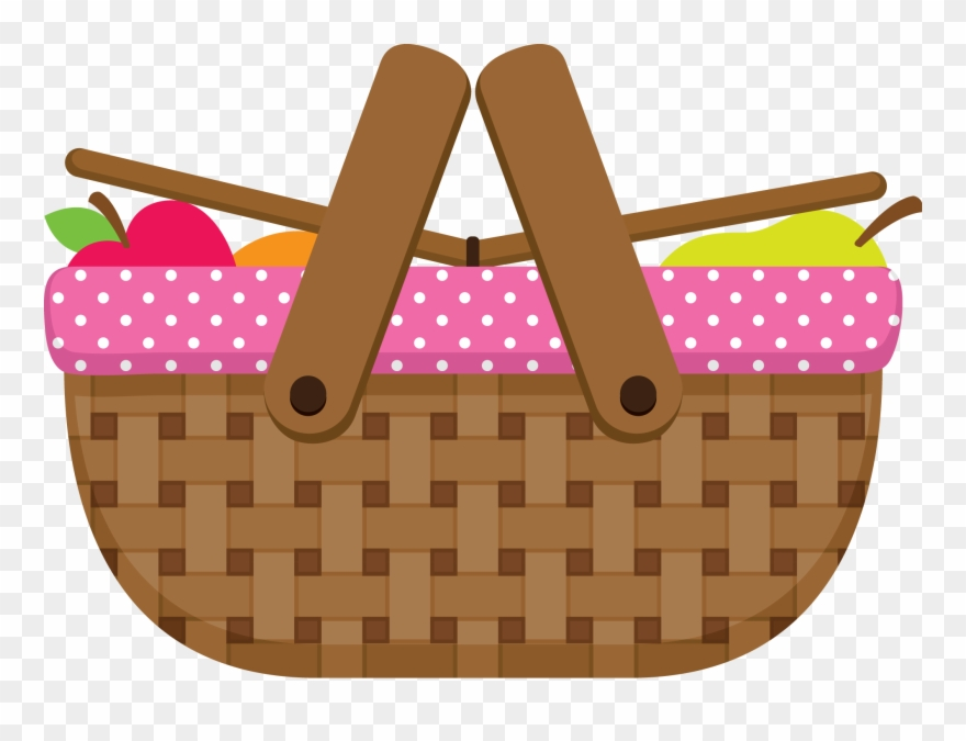 Picnic basket clipart free clipart freeuse Pin By Sonia On Dibujos Picnics, Clip Art - Picnic Basket ... clipart freeuse