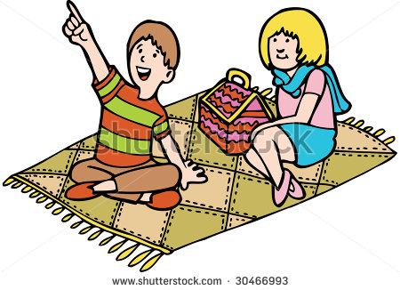 Picnic mat clipart graphic freeuse Picnic Blanket Clip Art | Clipart Panda - Free Clipart Images graphic freeuse