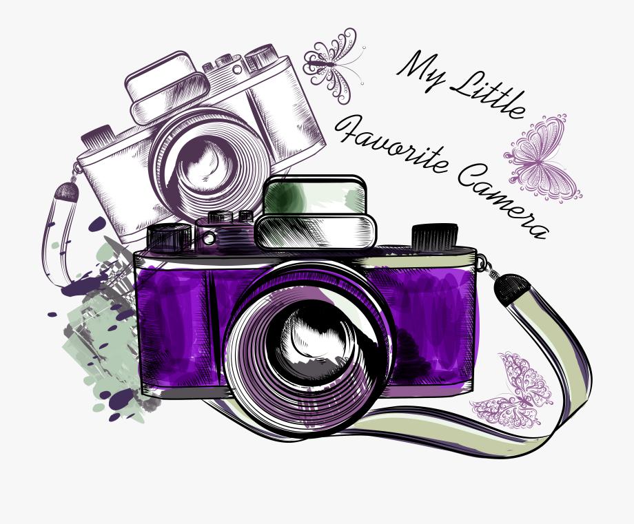 Picsart clipart camera graphic freeuse Photography Clipart Camera Sketch - Vintage Camera Images ... graphic freeuse