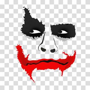 Picsart mask clipart png black and white DC The Joker illustration, Joker mask YouTube PicsArt Studio ... png black and white