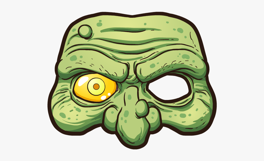 Picsart mask clipart vector library stock Zombie Sticker - Mask Sticker Picsart, Cliparts & Cartoons ... vector library stock