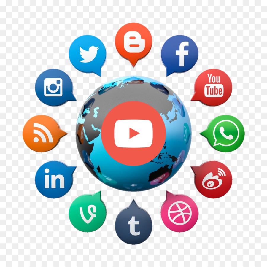Picsart social clipart banner transparent PicsArt Photo Studio Editing Clip art - social networks png ... banner transparent
