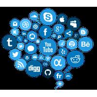Picsart social clipart vector Download Social Media Free PNG photo images and clipart ... vector