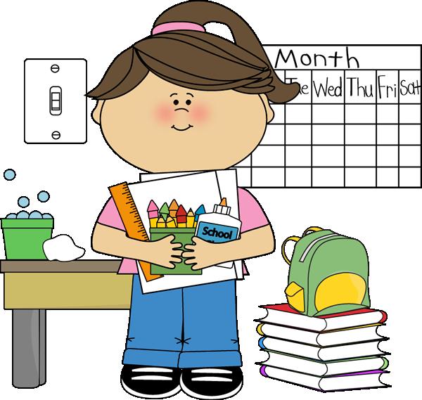 Classroom Job Clip Art - Classroom Job Images - Vector Clip Art banner black and white stock
