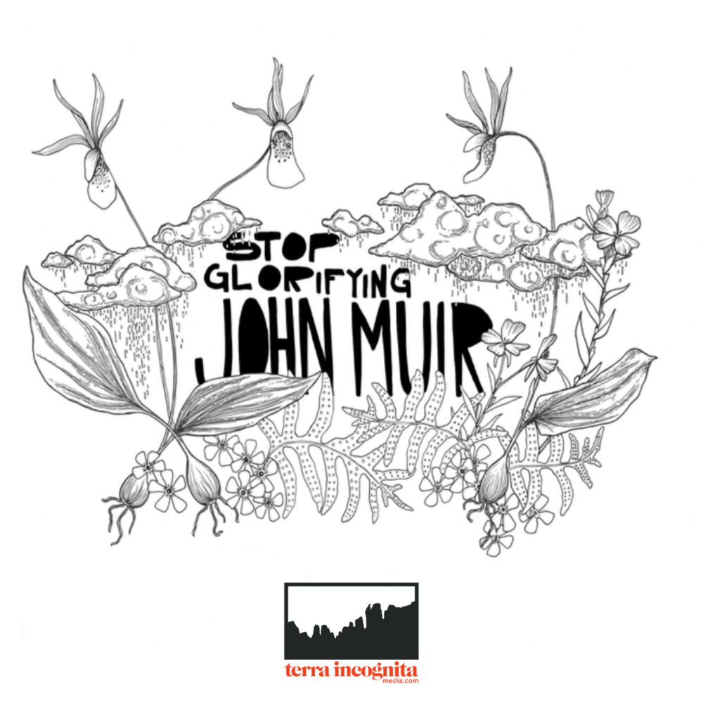 Picture for glorify black and white picture clipart image library Stop Glorifying John Muir — Terra Incognita Media image library