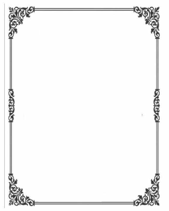 Picture frame clipart format jpg freeuse stock RECUADRO | Ann Palmieri | Frame clipart, Printable frames, Frame jpg freeuse stock