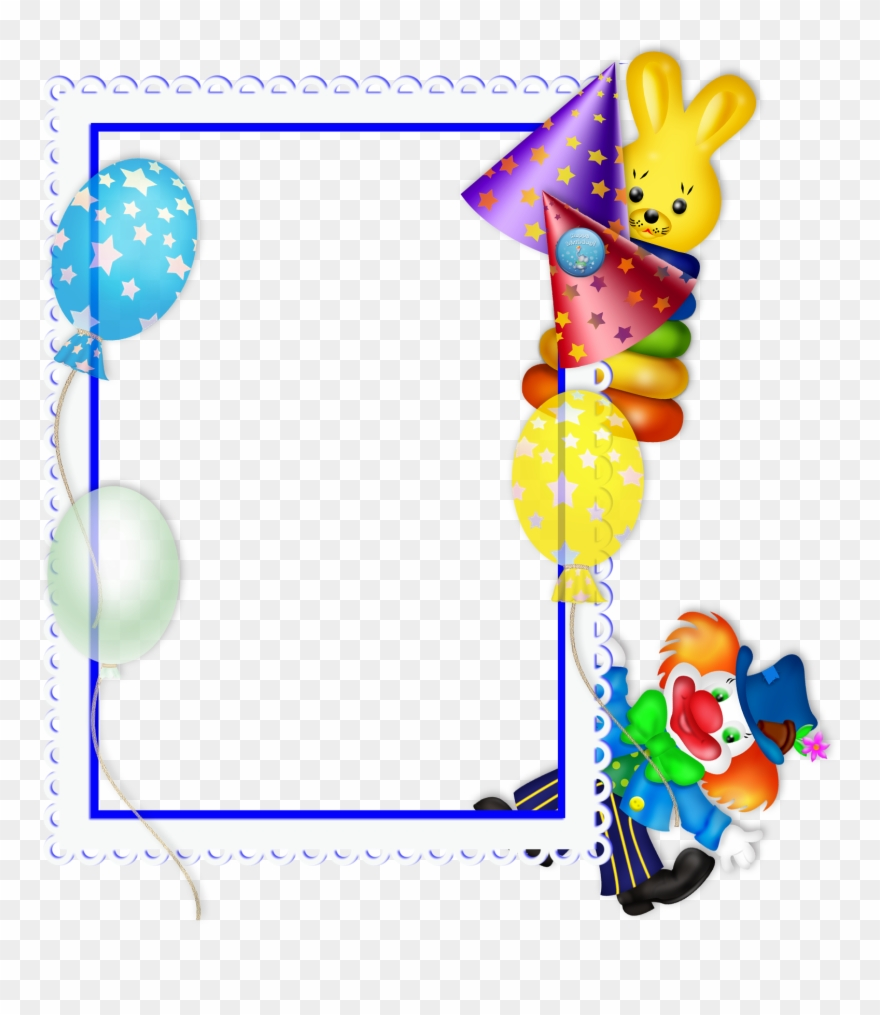 Picture frame clipart format freeuse stock Birthday Frame Clipart Free Download Best Birthday - Png ... freeuse stock